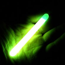10bags 7.5X75MM Luminous Fishing Float Light Stick Tube Green Fluorescent Glow Stick Wand for Night Fishing Float Accessories