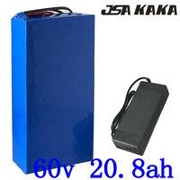 60 v バッテリー 60 v 1500 ワット 2000 ワット 2500 ワットのリチウム電池パック 60 v 10AH 12AH 13AH 15AH 18AH 20AH 電動自転車リチウムイオンスクーターのバッテリー
