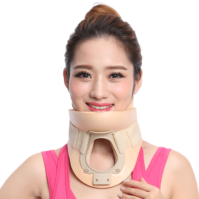 ФОТО Medical Cervical Collar Neck Brace Therapy Neck Massager Posture Brace Correct Neck Torticollis Correction Device Pain Relief
