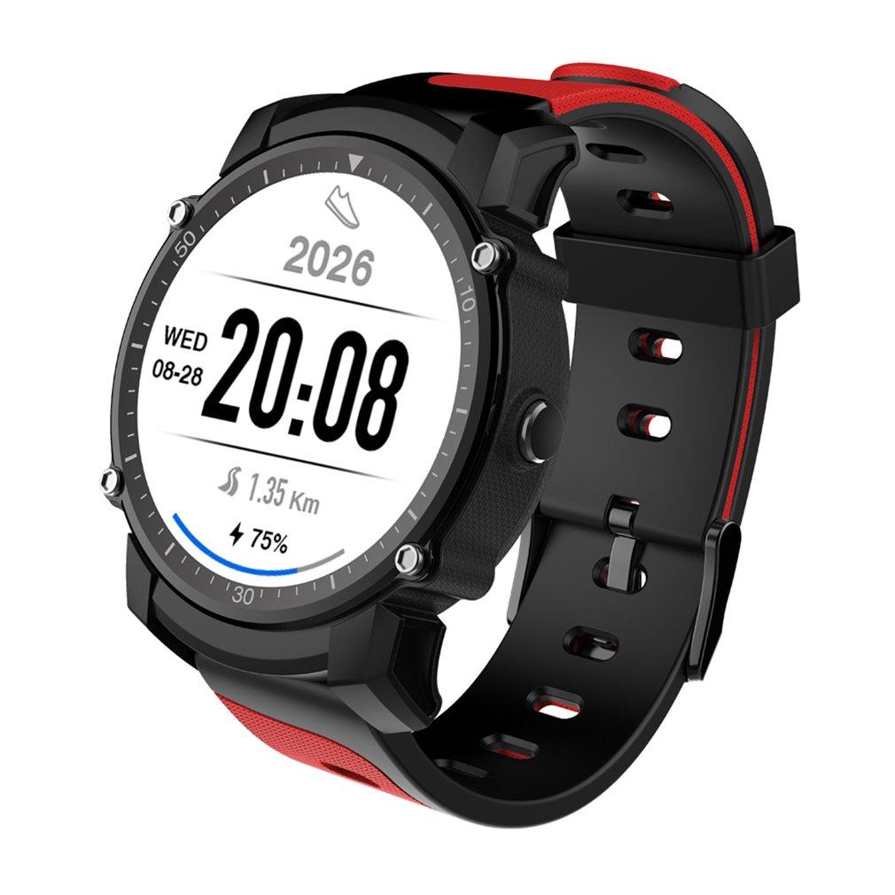 FS08 Bluetooth Smart Watch impermeable IP68 natación deporte GPS fitness Tracker cronómetro reloj Monitor de ritmo cardíaco para Android IOS