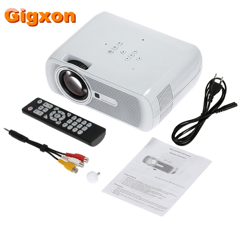 Gigxon - G80 1000 Ansi Lumens 1920 * 1080 Full HD Mini Portable - Audio dhe video në shtëpi - Foto 6