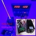 Verdadero 3500 MW/3.5 W 445 445nm 450nm azul enfocable luz de la etapa del RGB módulo láser de diodo láser de alta potencia cortador/compacto/TT L