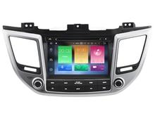 Octa(8)-Core Android 6.0 CAR DVD player FOR HYUNDAI IX35 2016/TUCSON 2015 car audio gps stereo head unit Multimedia navigation