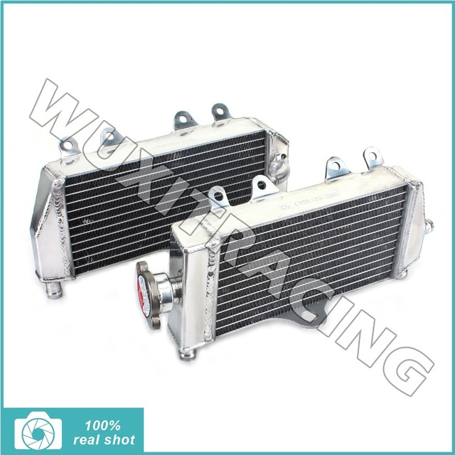 05 06 07 08 09 10 11 L/R New Aluminium Cores MX Offroad Motorcycle Radiators Cooling For Yamaha YZ 125