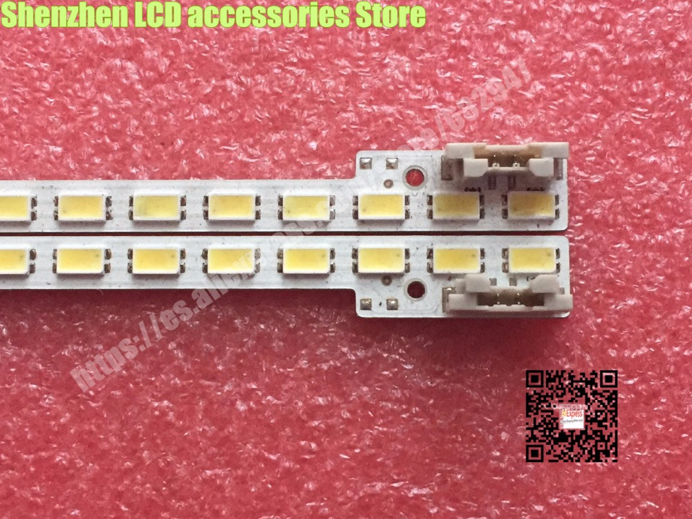 2piece/lot  347mm LED Backlight Lamp Strip 44leds For Samsung 32 Inch TV 2011SVS32 456K H1 UA32D5000 LTJ320HN01-H BN64-01634A