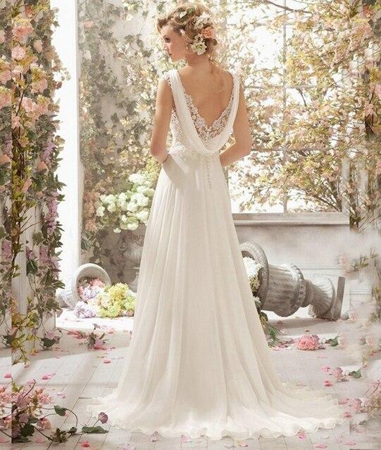 9054 белый кот-бич свадебные платья 2016 свадебное платье шифон кристалл размер 2 4 6 8 10 12 14 16 18 20 22 24 26
