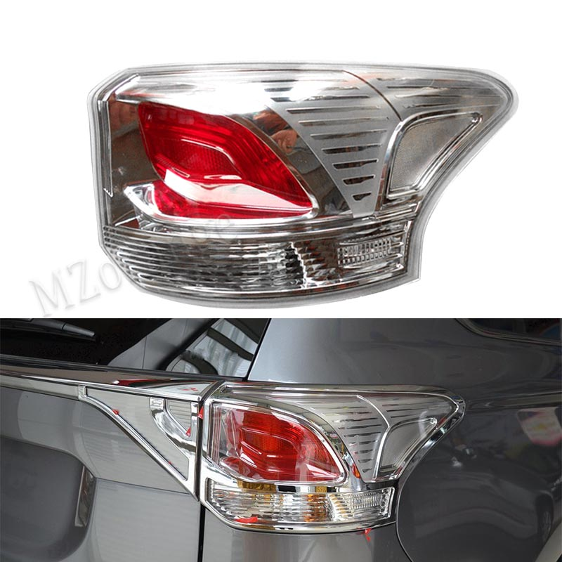 MZORANGE Tail Lamp rear light Tail Light Assembly for Mitsubishi OUTLANDER 2013 2014 Tail Light 8330A787 8330A788 Car Style