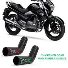 Hickened шестерни бар мотоцикла рычаг переключения передач крышка Резиновый рукав носок загрузки обуви протекторы мотоцикл для Honda Kawasaki Suzuki