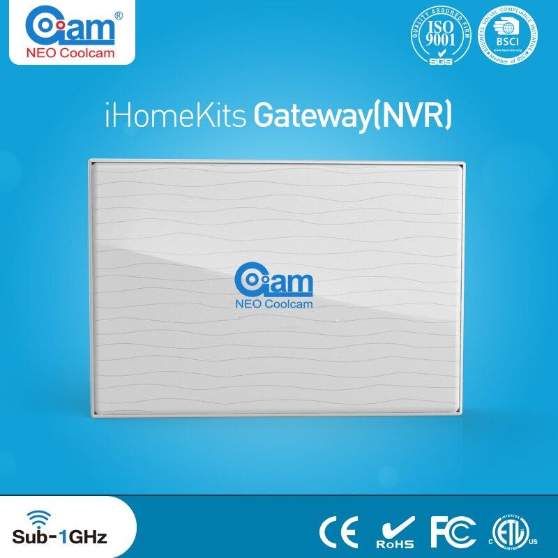 Coolcam NAS-AC01DT Combination IHOMEKITS Smart Home Alarm Host Gateway NVR Network Video Recording Functions, цена и фото