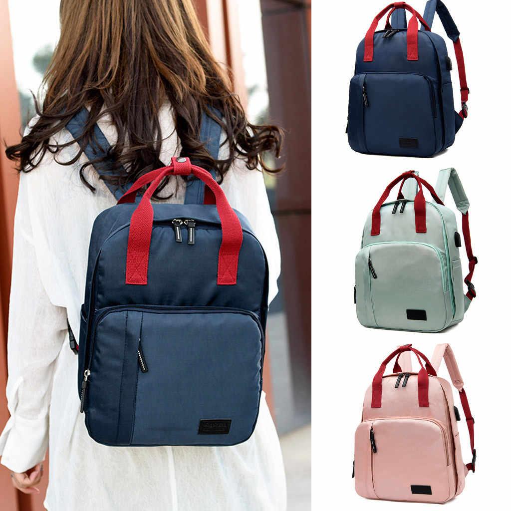2019 женский рюкзак, Повседневная Лучшая дорожная сумка, японская школьная сумка с кольцом, модная сумка на плечо для подростков, женский рюкзак Mochila Bagpack
