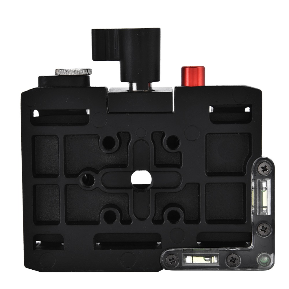 New Portable Aluminium Alloy Quick Release Plate Rapid Connect Adapter for Manfrotto 501HDV
