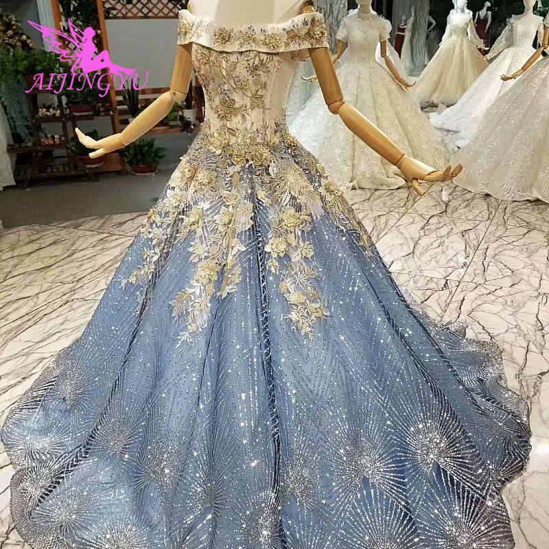 ... Custom Gowns Prices Ivory Luxury Gypsy Glitter Tulle Lace Bridal Gown  Ball Unique Wedding Dress. US  232.00. 0.0 (0). 0 Orders. AIJINGYU Plus  Size Dress ... 59e70d43c53e