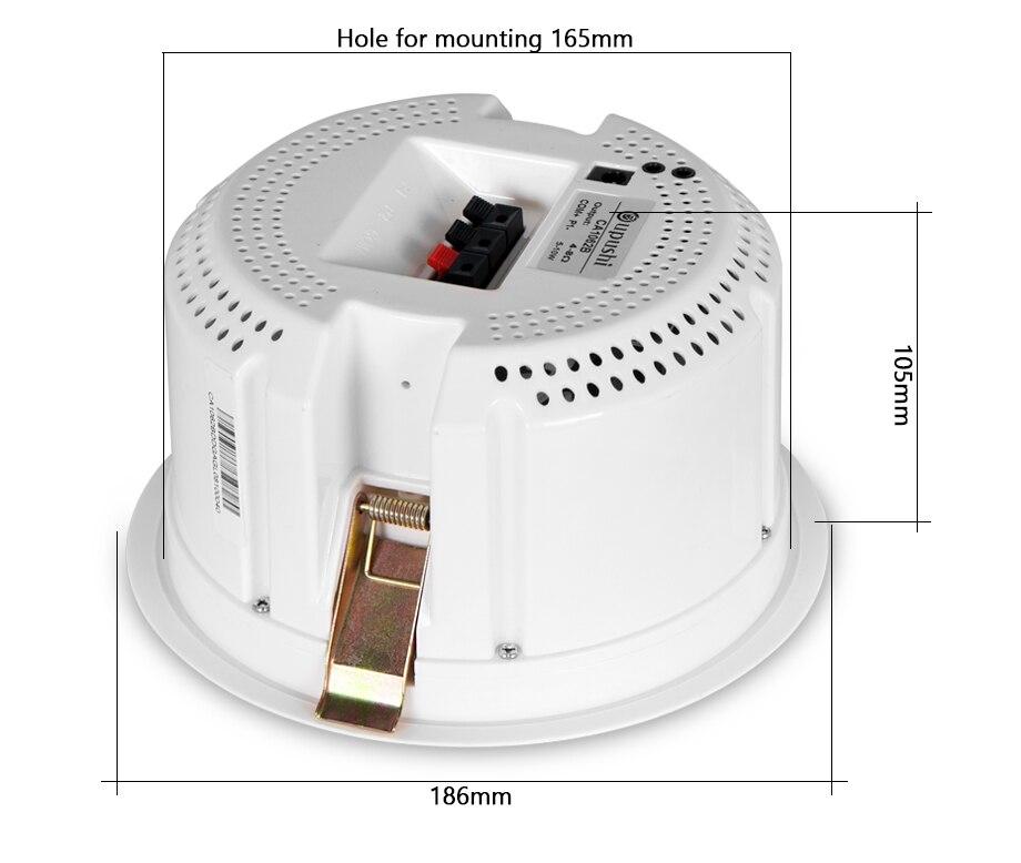 Bluetooth alto falantes de teto ativo telefone