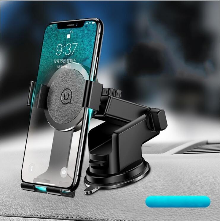 USAMS Car-Windshield-Phone-Holder Rotatable Universal iPhone X for 8-samsung/Universal/Adjustable/Rotatable
