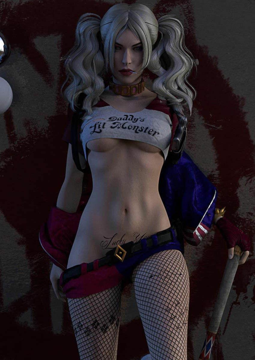 Harley Quinn Fan Suicide Squad Art Silk Poster 12x18 24x36