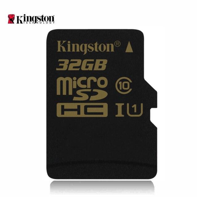 Kingston картао де memoria 32 ГБ sd card высокая скорость записи tf microsd