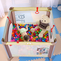 Европейский Стиль Роскошный Многофункциональный Детская Кровать Портативный Складной Детские Манеж Кроватки Алюминиевый Большое Пространство Детская Кроватка Игра Кровать C01