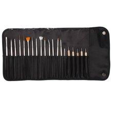 JEYL Hot 20pcs Nail Art Design Set Painting,Dotting Drawing Polish Brush Pen Tool Kit Set -15 Brush + 5 Dotting Pen