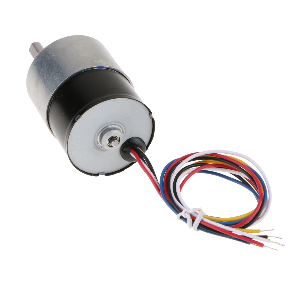 24V DC Brushless Electric Gear Motor Speed Reduction Motor Gearbox 320rpm цена