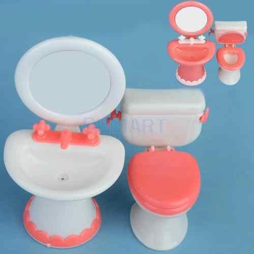 Barbie Doll 1:6 Bathroom Miniature Box Bath Soap