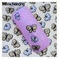 1 hojas de 3d Butterfly Nail Art Stickers Glitter Adhesivo Lindos Desig Nail Tips Adhesivos, Manicura Belleza Decoración de Uñas Herramientas