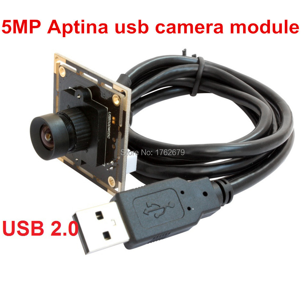 2592(H) X 1944(V) 5Megapixel HD CCTV USB camera board Aptina MI5100 CMOS sensor PCB camera module with 3.6mm lens 0 3 megpixel usb micro cctv usb 2 0 board camera module pcb with 2 1mm lens for android