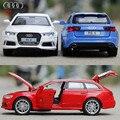 НОВЫЙ 1:32 Audi rs6 Игрушки Автомобиль Классический Сплав Античная Модель Автомобиля коллекционеров Рождественский подарок куклу