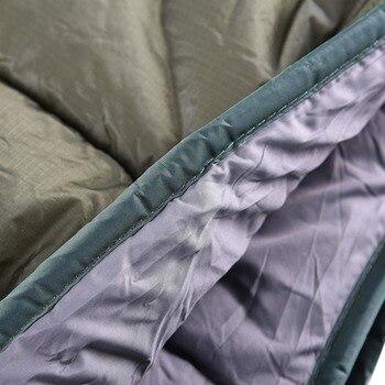 Outdoor Camping Full Length Hammock Underquilt Ultralight Winter Warm Under Quilt Blanket Cotton Hammock 5