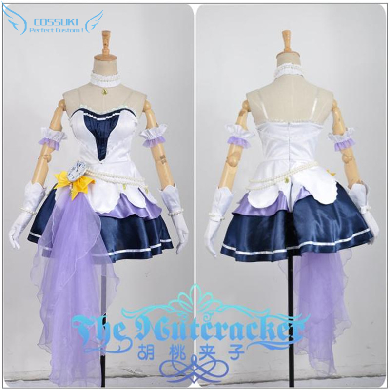 The Idol Master Cinderella Girls Starlight Stage Honda Mio Stage Performance Cosplay Costume , Perfect Custom For You !