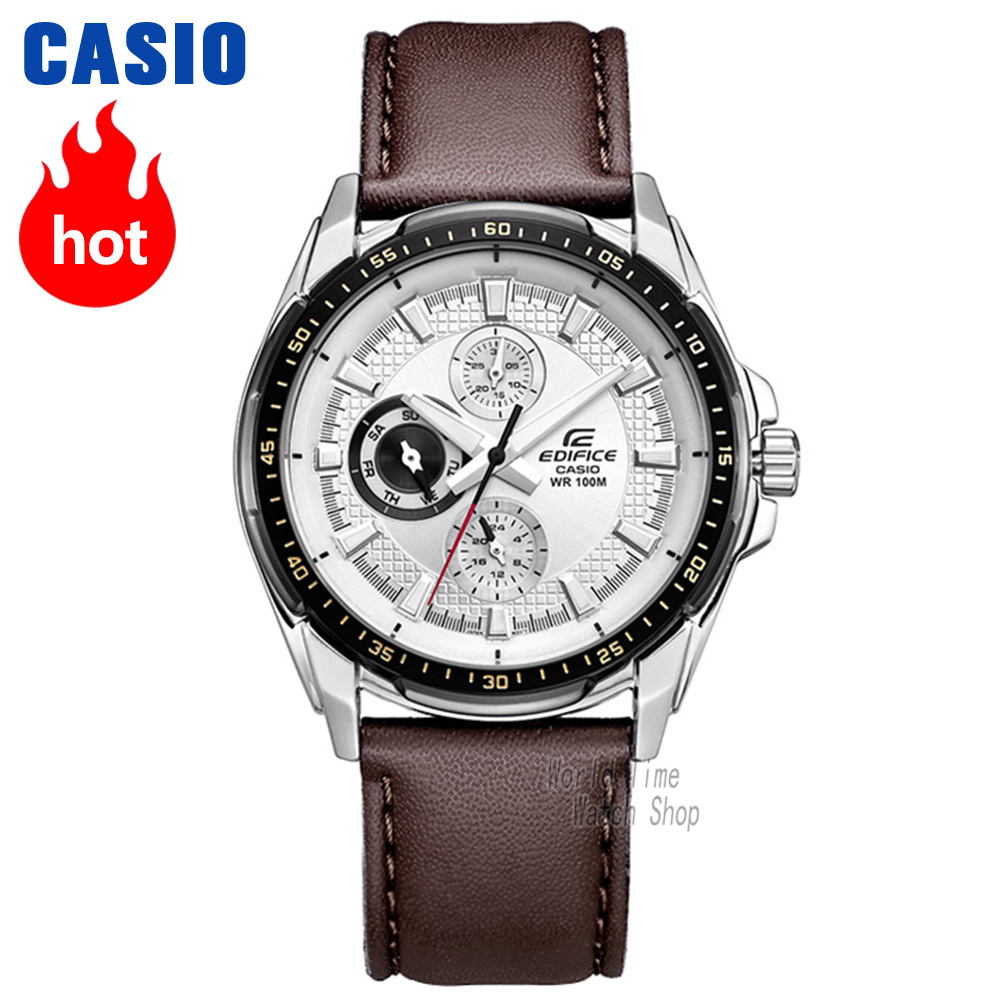 Casio watch Edifice Men's quartz sports watch breaks through the traditional business waterproof watch EF-336 цена и фото