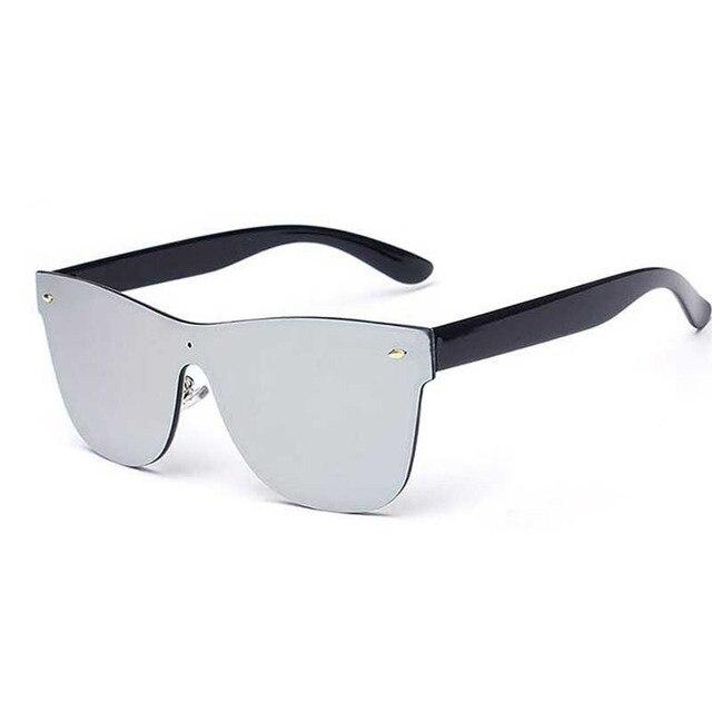 d29fead1a2b 2016 New Silver Mirror Women Retro Sunglasses Shield Goggles Men Vintage  Steampunk Glasses UV400 Protect Classic