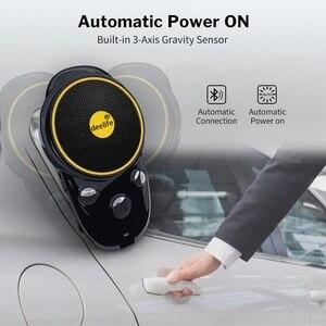 Image 5 - Deelife Handsfree Bluetooth Car Kit Sun Visor Speaker Auto Wireless Speakerphone Carkit for Phone Hands Free