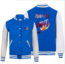 Bomber Jacket with Fairy Tail Logo (10 styles)