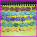 Wholesale 2strand/lot Nature Agate Druzy gem Stone bead connector Mix 5color agate druzy stone geode connector jewelry making