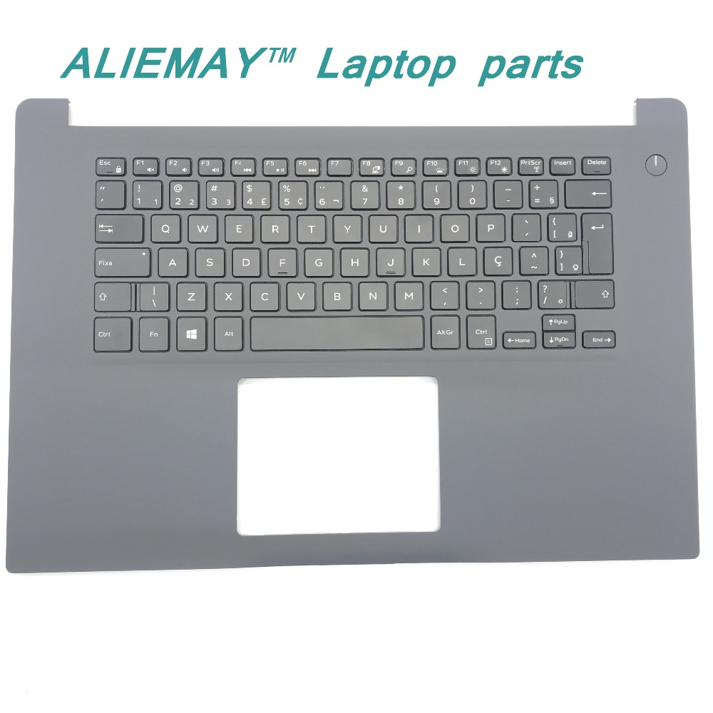 Brand new original laptop parts for DELL INSPIRON 15-7000 7560 backlit  BR PT-BR keyboard palmrest X02KX laptop keyboard for dell latitude e7240 black without backlit
