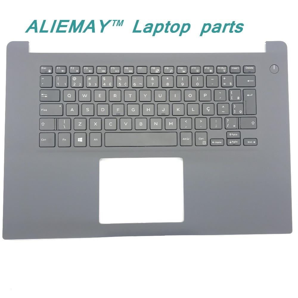 Brand new original laptop parts for DELL INSPIRON 15-7000 7560 backlit  BR PT-BR keyboard palmrest X02KX new emay gaahoo laptop parts for dell latitude e7470 battery cable dpn cn 049w6g 49w6g