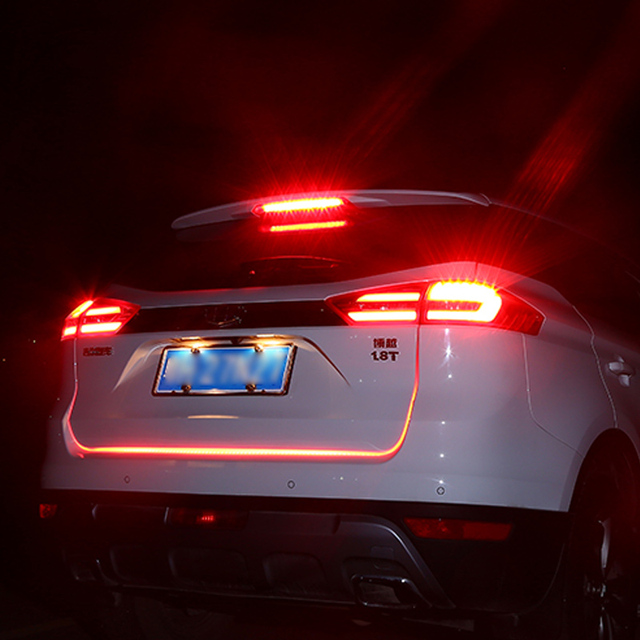 Awesome KEEN Tailgate Signal Light Strip Turn Signal Tail Led Moving Flash Warning  Light Car Led Trunk Nice Design