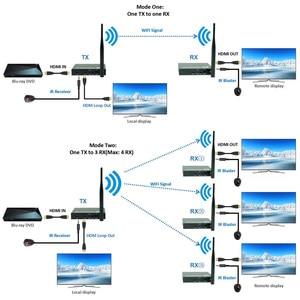 Image 2 - 2020 5GHz Wireless HDMI Transmission Extender Support IR HDMI Wireless Transmitter Receiver Kit HD 1080P WIFI HDMI Transmitter