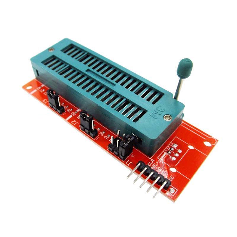 PIC ICD2 Kit2 Kit3 Programming Programmer Burning Adapter Universal Burning Seat Flash Reprogramming Programmed Module Board specific 78k0 lf2 80gc 038x block lqfp80 adapter block burning test programming