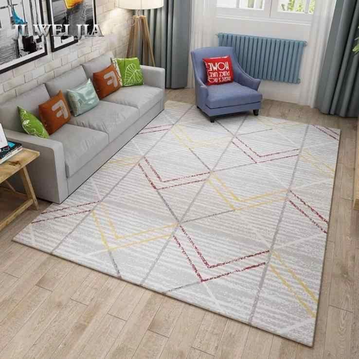 Americano moderno Tapete Para Tapetes E Carpetes Para Casa Sala de estar Simples Estudo Quarto Tapete Mesa de Café Sofá Tapetes tapete