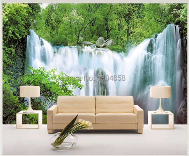 Buy customized photo wallpaper for living for Decoration murale wish