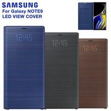 עבור SAMSUNG המקורי LED להציג כיסוי חכם כיסוי טלפון מקרה עבור סמסונג גלקסי הערה 9 Note9 SM N9600 N9600 מקורי טלפון כיסוי
