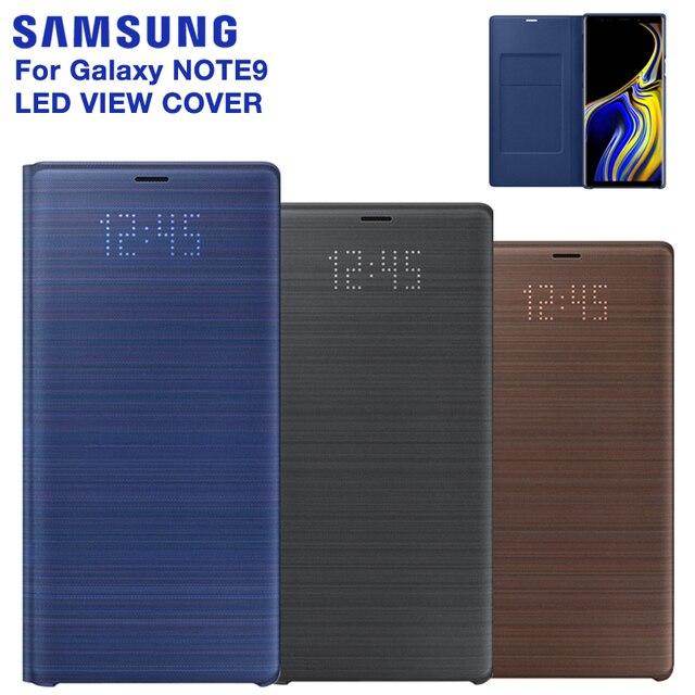 Оригинальный чехол со светодиодной подсветкой для SAMSUNG, умный чехол для телефона Samsung Galaxy Note 9, Note 9, SM N9600, N9600