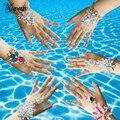 Miwens Trendy Women Anklets&Bracelet Foot Jewelry 2017 Bohemian Beach Charm Crystal Leg Chain Boho Barefoot Sandal Anklet B78
