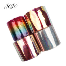 цена на JOJO BOWS 75mm 2y Transparent PVC Ribbon Solid Smooth Webbing Dress Sewing Materials Home Decoration DIY Hair Bows Home Textile