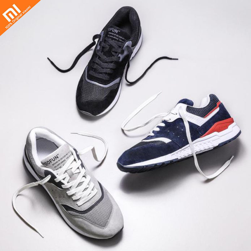 3 xiaomi mijia 90 points leather retro casual shoes sports shoes breathable refreshing mesh men for