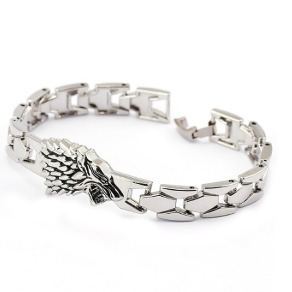 Game of Thrones Stark Wolf Bracelet