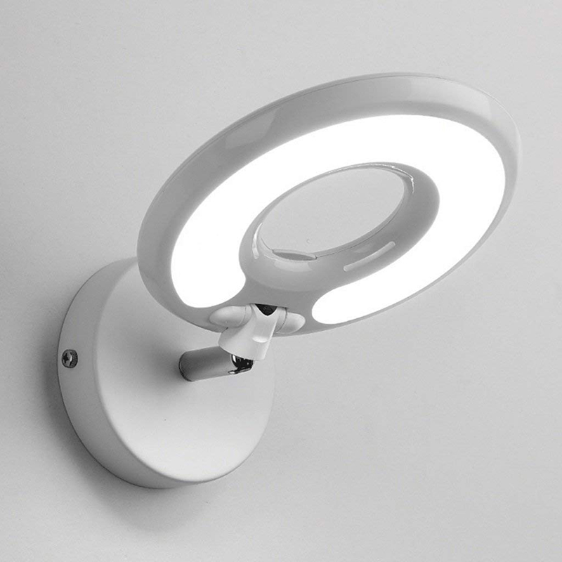 цена на Modern Led Wall Lamp Bedroom Bedside Hotel Study To Read The Eye Wall Lamp With Switch Mirror Light Office Lighting