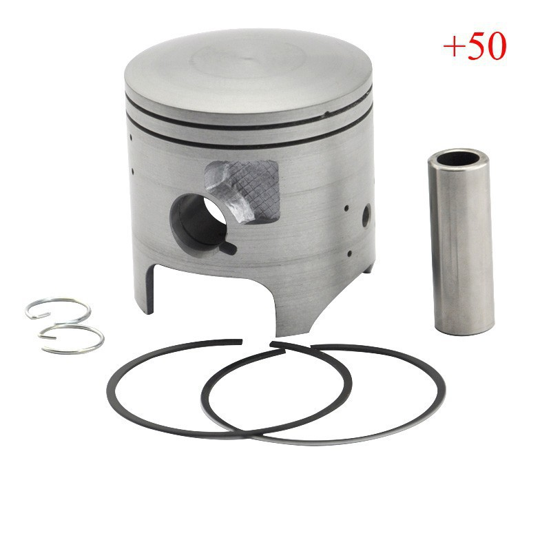 LOPOR KDX200 Piston & Piston Rings Kit Motorcycle Engine Parts Piston Set For Kawasaki KDX 200 +50 Cylinder Bore Size 66.5mm New 38mm engine housing cylinder piston crankcase kit fit husqvarna 137 142 chaisnaw