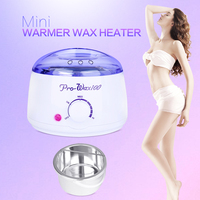 New Warmer Wax Heater Mini SPA Hand Epilator Feet Paraffin Wax Rechargeable Machine Body Depilatory Hair Removal Tool